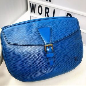 Louis Vuitton Bags - Louis Vuitton Jeune Fille Blue Epi corssbody Bag